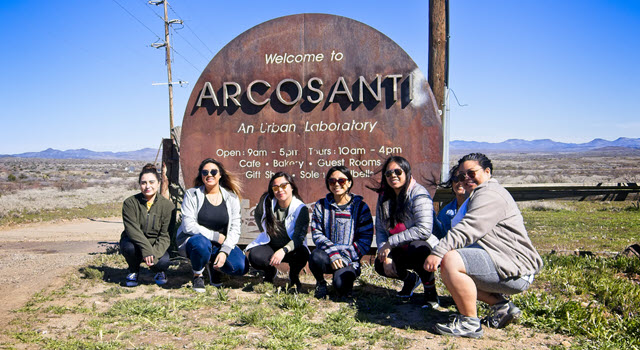 Honors Global and Multi-cultural Experience 2019 - Arcosanti