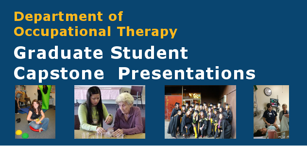 Occupational Therapy | Graduate Student Capstone Presentations