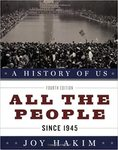 A History of US: All the People by Joy Hakim