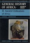 General History of Africa, Vol. II: Ancient Civilizations of Africa
