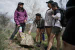 Arcosanti: Getting a lesson in lichen by Matthew Garcia