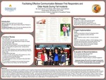 Facilitating Effective Communication Between First Responders and Older Adults During Fall Incidents by Krystin M. Beeman, Erica L. Berger, Isabel A. Cabezas, and Nicole M. Mathews