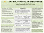 Sleep in College Students: a Mixed Methods Study
