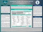 Occupational Therapy in the Intensive Care Unit by Michelle Chan, Kelsie Colombini, Kristen M. Henderson, and Courtney Malachowski