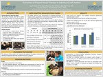 Outcomes of Project-Based Therapy in Individuals with Autism