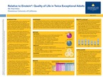 Relative to Einstein: Quality of Life in Twice Exceptional Adults
