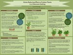 Stress Reducing Effects of Indoor Plants in a Classroom Setting by Laura Tennant
