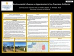 Environmental Influence on Hypertension in San Francisco, California by Corinna Louise Venturina Villar