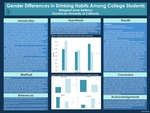 Gender Differences in Drinking Habits Among College Students by Margaret Anne DeMayo