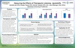 Measuring The Effects of Therapeutic Listening - Quickshifts by Hannah Tashjian, Phoebe Taasan, and Donielle Hair