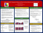 Adults with ASD: Therapeutic Riding and Observed Social Behaviors and Stress Levels